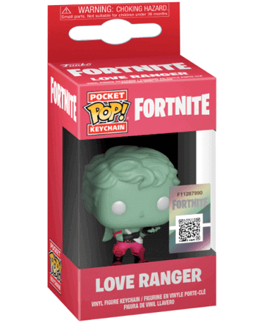 Fortnite Love Ranger Funko Pop Nøglering
