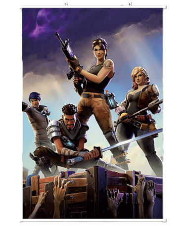 Image of   Fortnite plakater - 60x90 cm