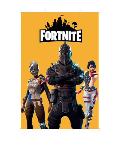 Fortnite plakat - Black knight