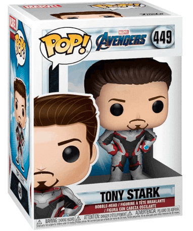 Iron Man Funko Pop Figur - Endgame - Marvel