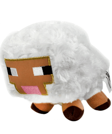 Minecraft får bamse 12 cm