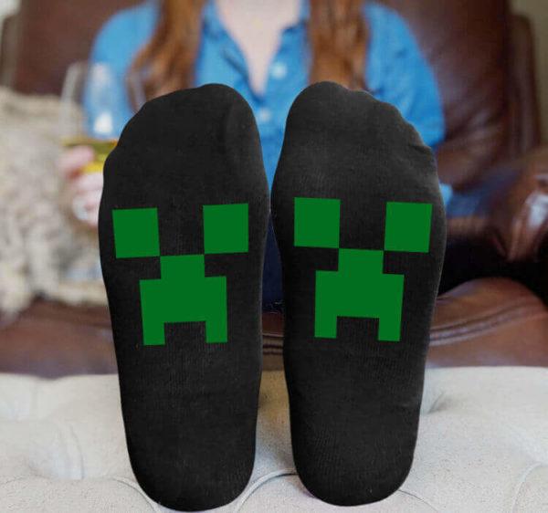Minecraft sokker - strømper