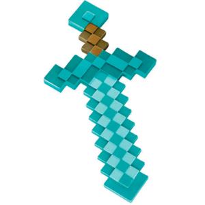 Minecraft sværd - Diamant sværd - 50cm