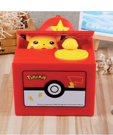 Image of   Pikachu sparegris - Mekanisk Pokémon sparegris