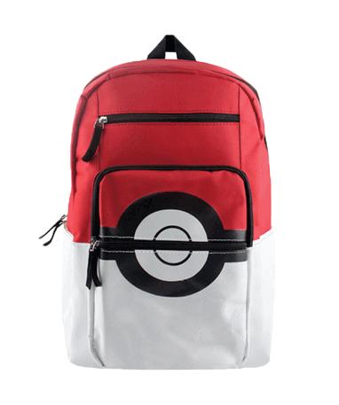 Pokeball skoletaske - Stor Pokemon Go taske