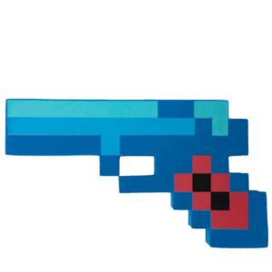 Minecraft pistol 21 cm – Skum Diamant pistol
