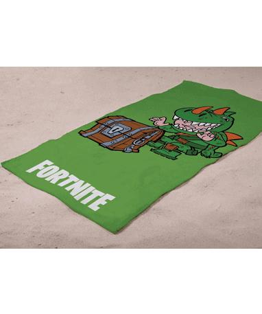 Fortnite håndklæde grønt