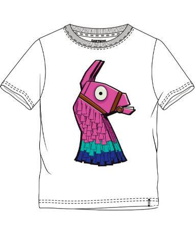 Fortnite lama t-shirt til børn