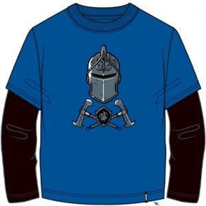 Fortnite langærmet trøje til børn - Black Knight