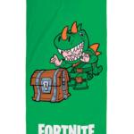 Grønt håndklæde