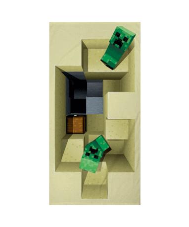 Minecraft håndklæde til børn
