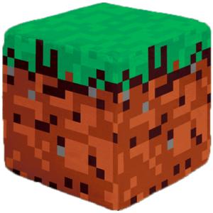 Firkantet minecraft pude