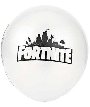 Hvid Fortnite ballon