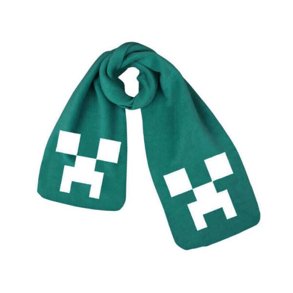 Minecraft halstørklæde - grøn