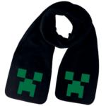 Sort halstørklæde