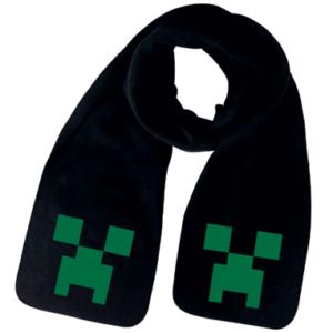 Minecraft halstørklæde - sort