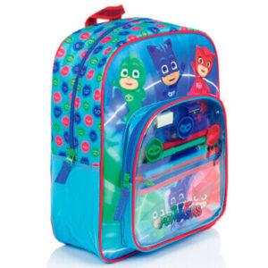 Pyjamasheltene skoletaske til børn 38x30x10cm