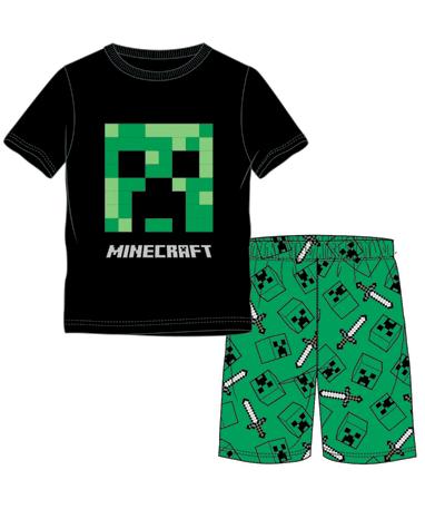 Design 1 Minecraft trøje og shorts - Pyjamas sæt