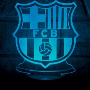 Fc Barcelon 3d lampe