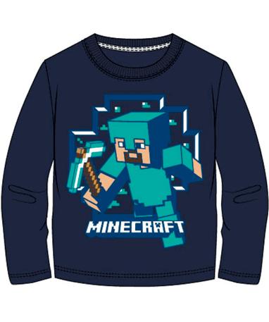 Minecraft langærmet trøje til børn