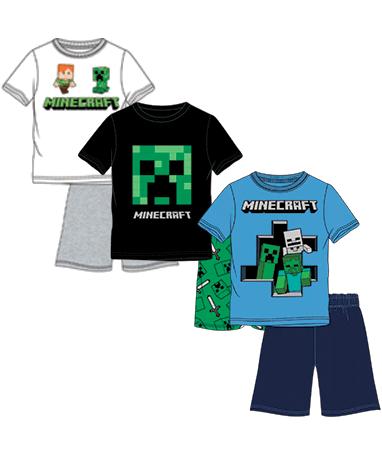 Minecraft pyjamas sæt - 3