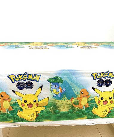 Image of   Pokémon Fødselsdag / Temafest - 1 stk. Dug