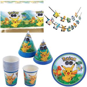 Pokémon fødselsdagspynt - temafest