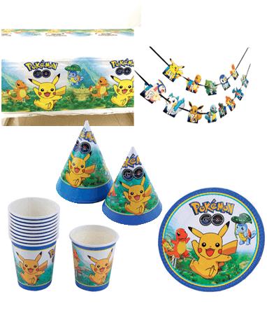 Image of   Pokémon Fødselsdag / Temafest