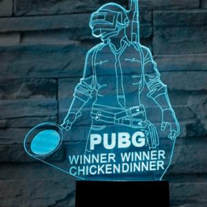 Pubg 3d lampe - Player Unknown battleground lampe