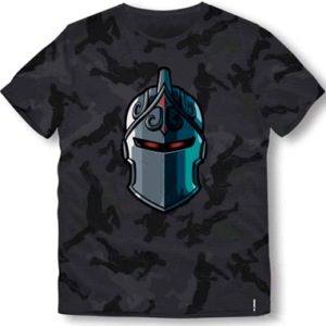 Fortnite t-shirt til børn - Black knight