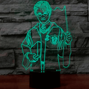 Harry Potter 3D lampe