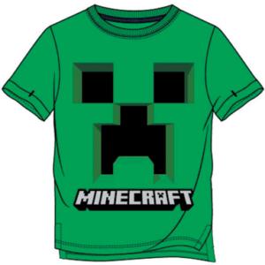 Minecraft t-shirt til børn - Creeper