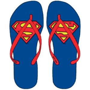 Superman badesandaler