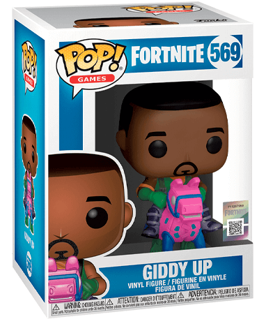 Fortnite Giddy up figur - Funko pop