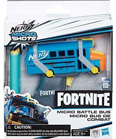 Battle bus Mikro nerf pistol