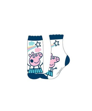 Blå gurli gris strømper