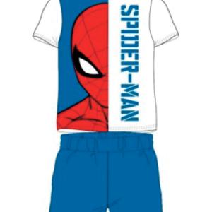 Blå spiderman pyjamas sæt til børn