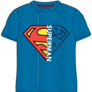 Blå superman t-shirt til børn