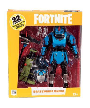 Fortnite Beastmode Rhino actionfigur - 18cm