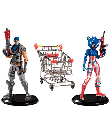 Fortnite Shopping cart pack figur