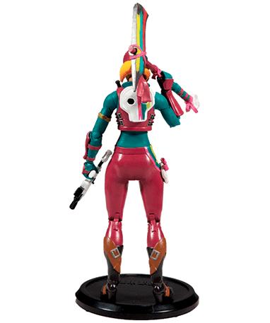 Fortnite Skully figur - bagfra