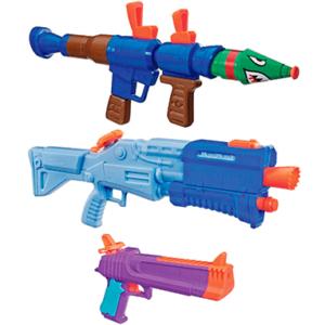 Fortnite vandpistol - 3 vandpistoler