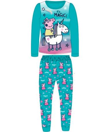 Gurli Gris pyjamassæt til børn - Blå