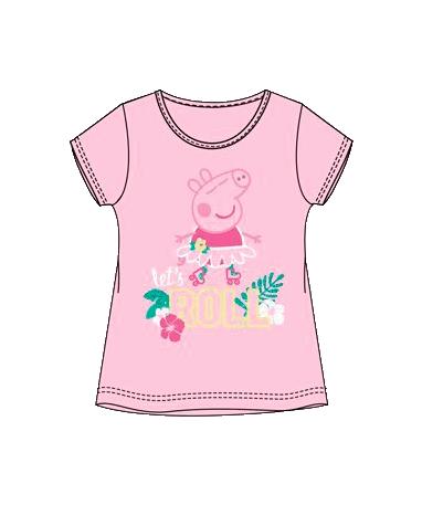 Lyserød Gurli Gris t-shirt