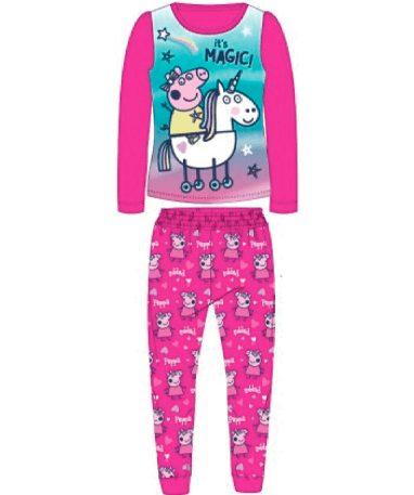 Lyserødt Gurli Gris pyjamas sæt til børn