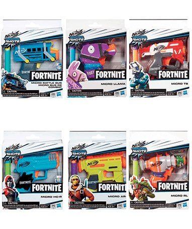 Mikro Nerf guns - pistoler