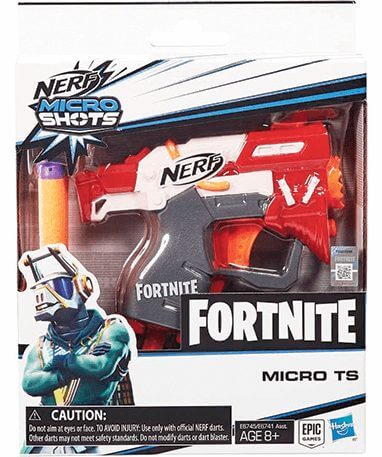Mikro nerf pistol - Dj yonder
