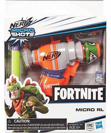 Rex Mikro nerf pistol