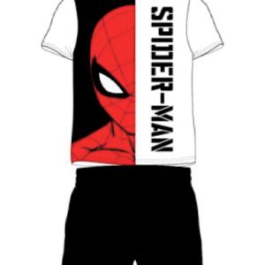 Sort Spiderman pyjamas sæt til børn