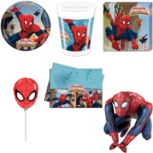Spiderman fødselsdagspynt - Marvel